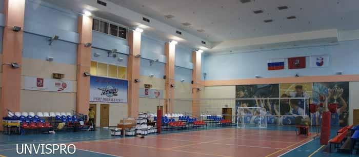 звуковое оборудование аудиосистема в спортивный зал