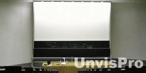 скрытая за экраном аудио техника для презентации Novasonar: купить встраиваемую акустику для презентаций