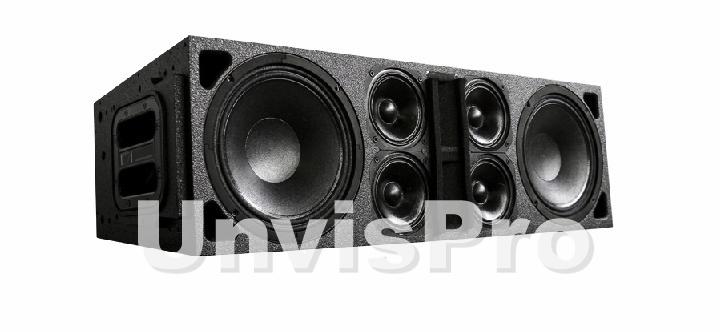 активная акустика - линейный массив для дискотек