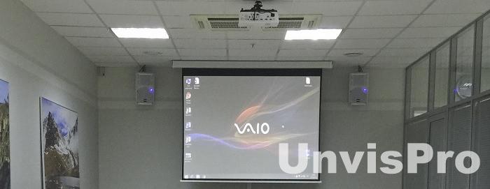 аудио видео оборудование для зала переговоров - поставщик Унвис-Про Москва