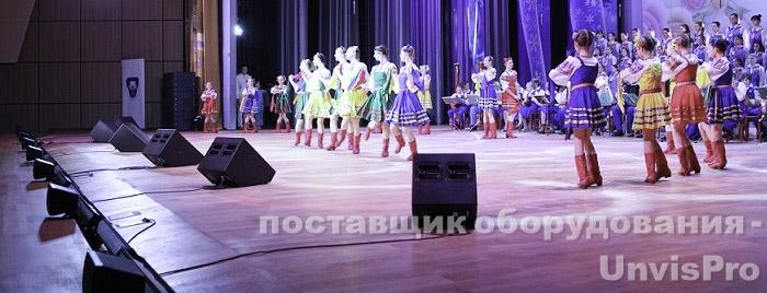 мониторы в концертный зал - поставщик Унвис-Про