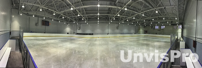 поставка звукового оборудования для ледовых арен - предприятие Унвис-Про