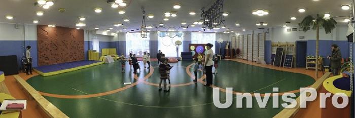 озвучиваем детский сад: музыкальный зал для танцев и спорта