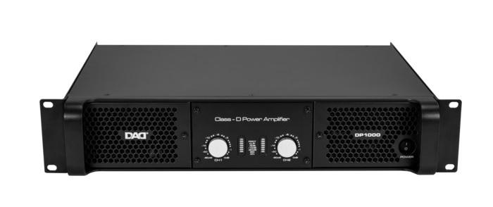 Двухканальный усилитель DP1000 D-класса: 350 Втх2/8Ом