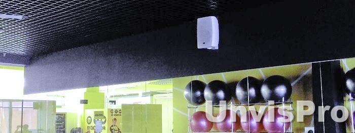 Звуковое оборудование фитнес клубов