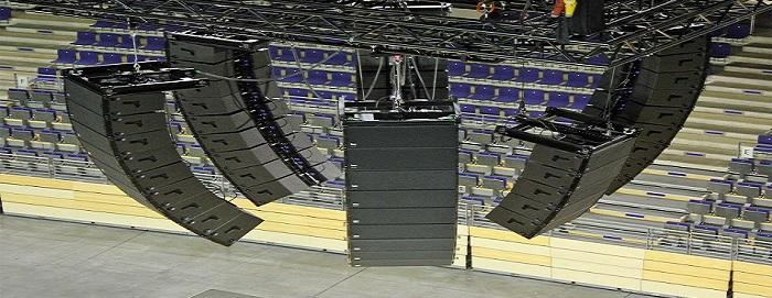 Инсталляционный комплект концертного оборудования