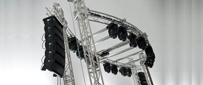 Купить комплект светомузыкального концертного оборудования