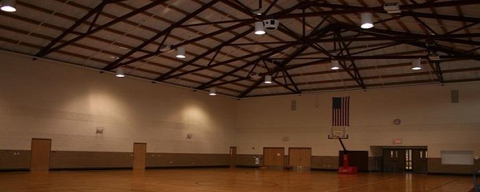 оборудование в баскетбольный зал