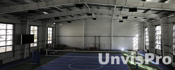 Звуковое оборудование в волейбольный зал