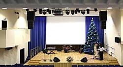 профессиональное звуковое оборудование для конференц-зала