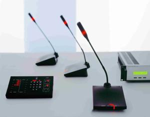 дискуссионная система: решение - аналоговая конференц система