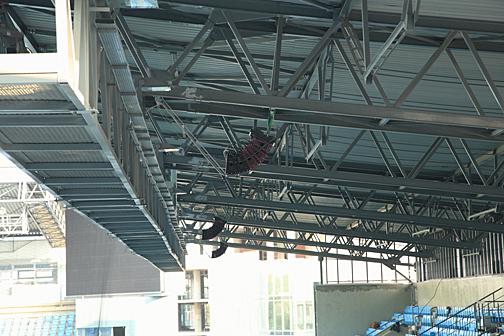 УНВИС-ПРО: звуковое оборудование на стадионе в Химках